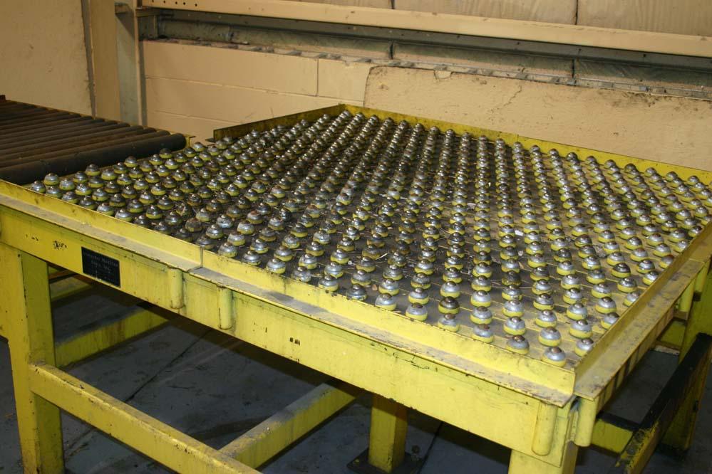 Dempset Machine Heavy Duty Roller Ball Press Feed Table