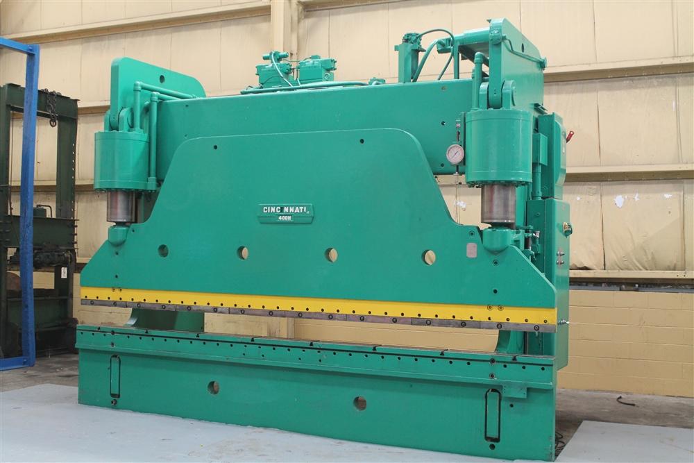 400 Ton X 16 Cincinnati Hydraulic Brake Stock 56735