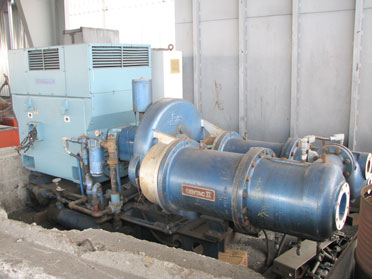 How Often Should You Change Your Air Filter >> 700 HP INGERSOLL RAND CENTAC II CENTRIFUGAL AIR COMPRESSOR: STOCK #58089