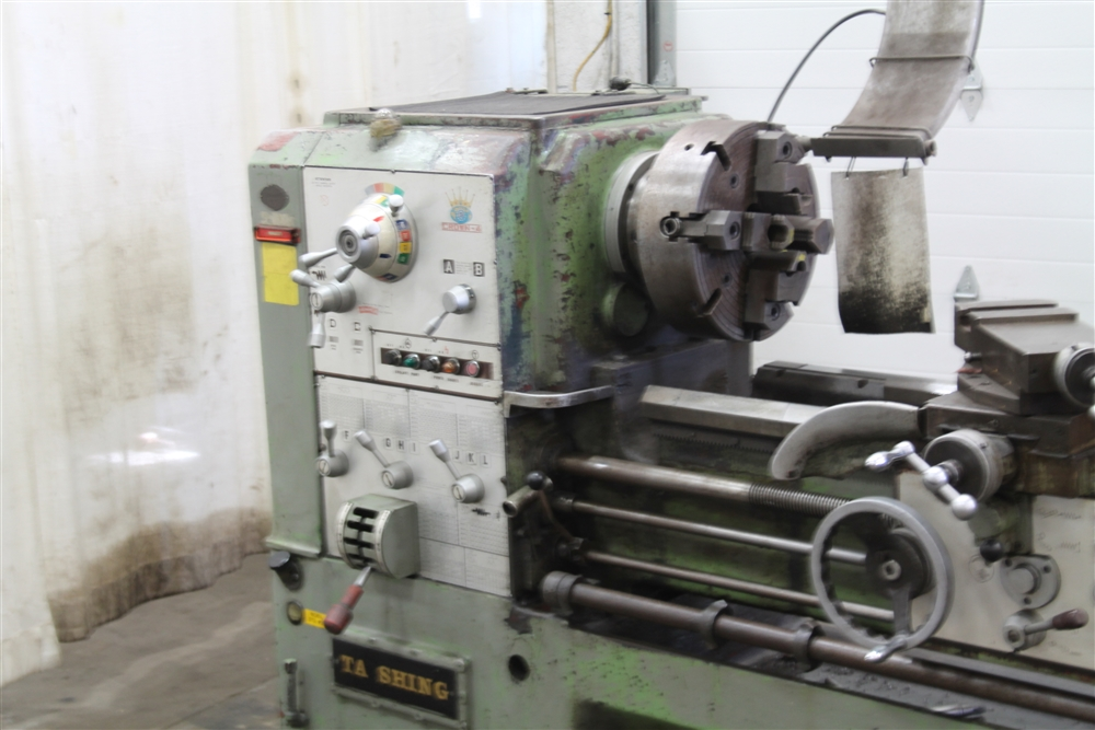 """Metric To Standard >> 24"""" / 32"""" X 84"""" T A SHING GAP LATHE WITH 3"""" HOLE: STOCK #59534"""