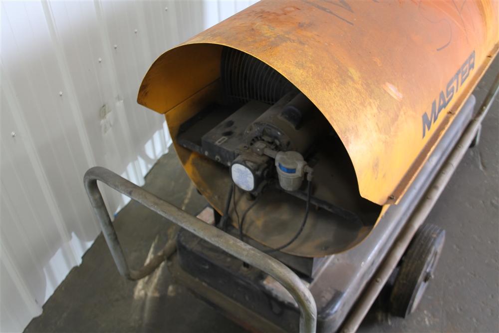 600 000 Btu Master Kerosene B600d Torpedo Portable Heater