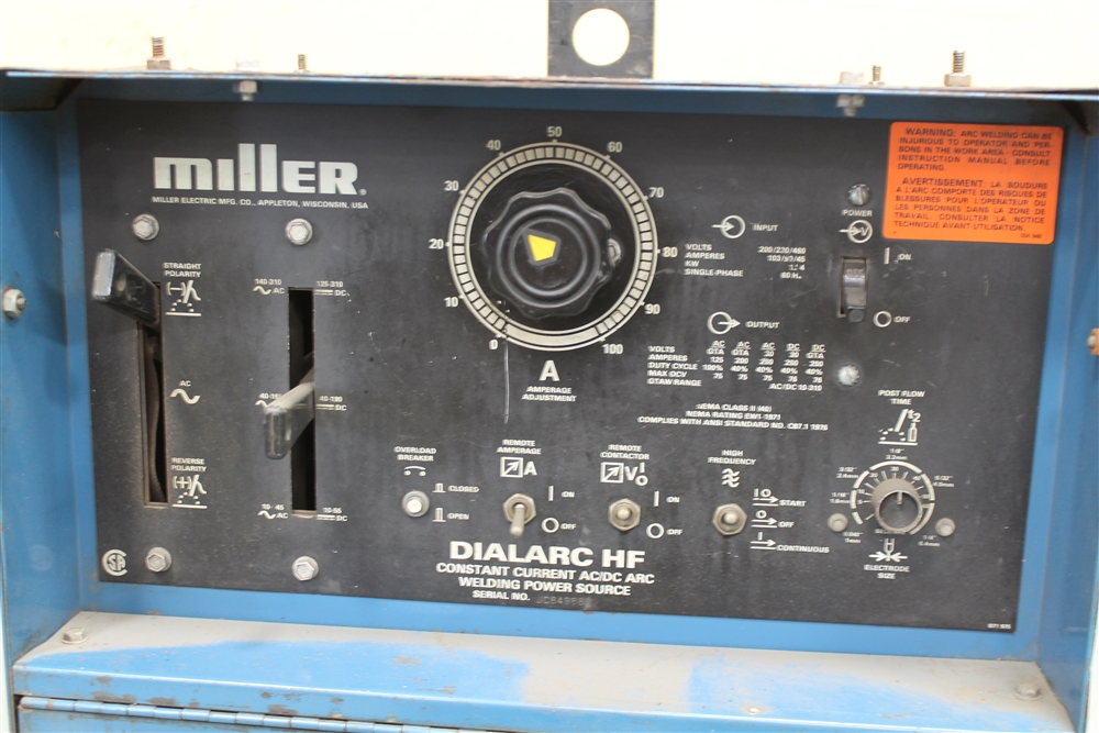 miller dialarc 250 ac dc welder manual