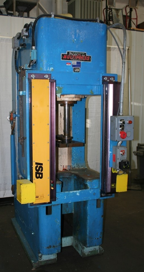 10 Ton Denison Multipress Hydraulic C Frame Press 61514