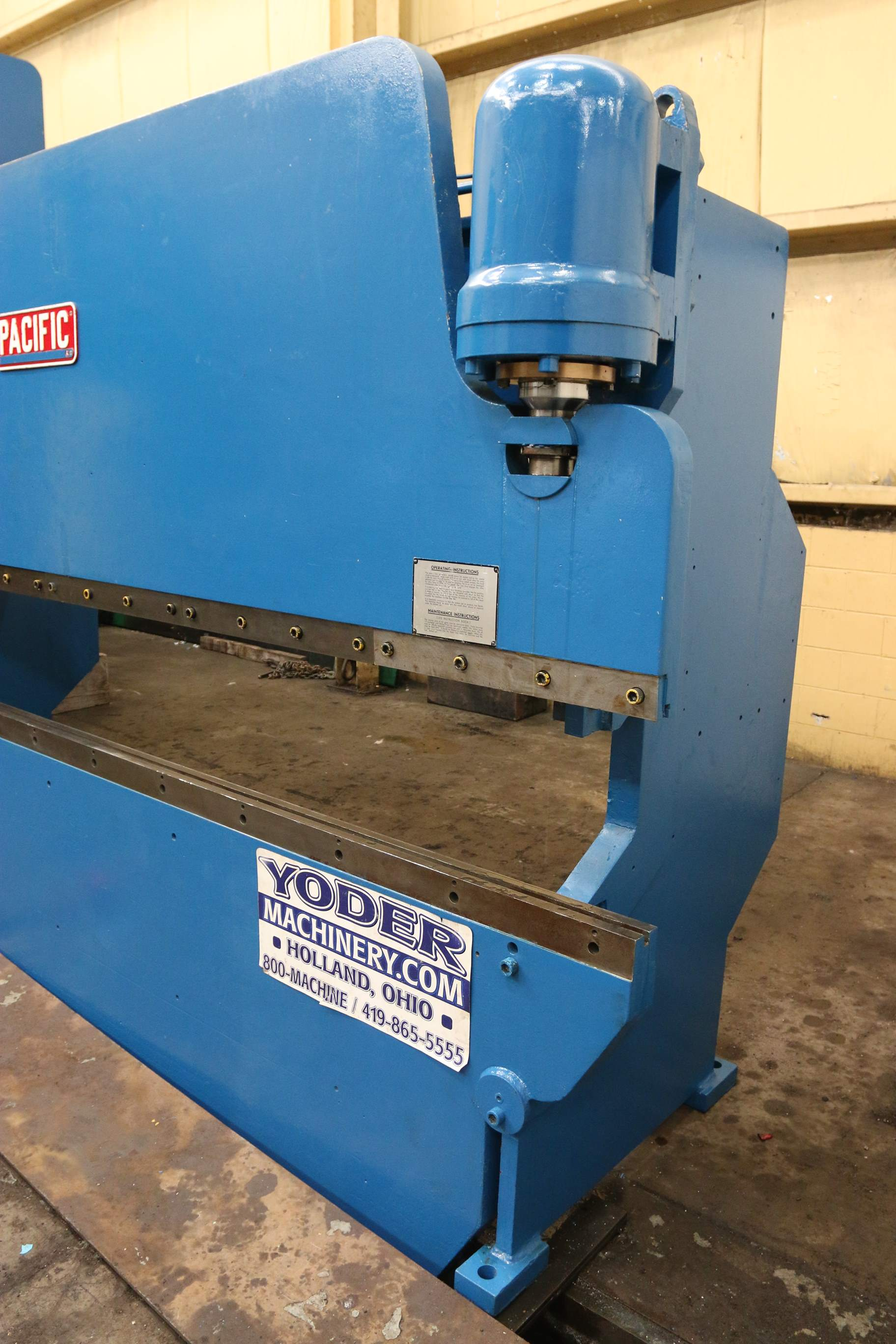 70 Ton X 14 Pacific Hydraulic Press Brake Stock 61682