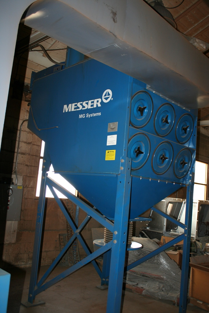 10 X 20 Messer Model Titan Plasma Burning Machine Stock