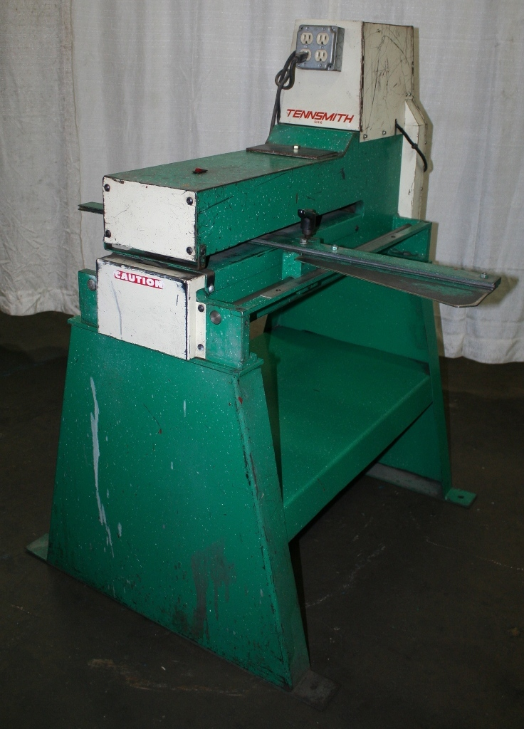 """24"""" X 16"""" TENNSMITH MODEL #S2416 SLITTER WITH STAND: STOCK ..."""