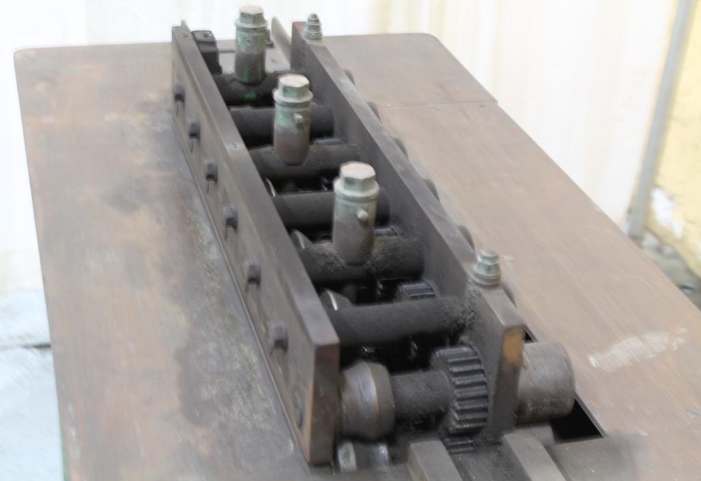 16 Gauge 7 Station Lockformer Rollformer Stock 63385