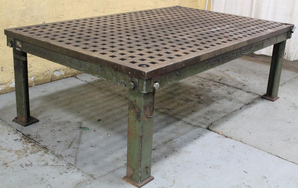 4 X 8 Weldsale Acorn Table Stock 63565