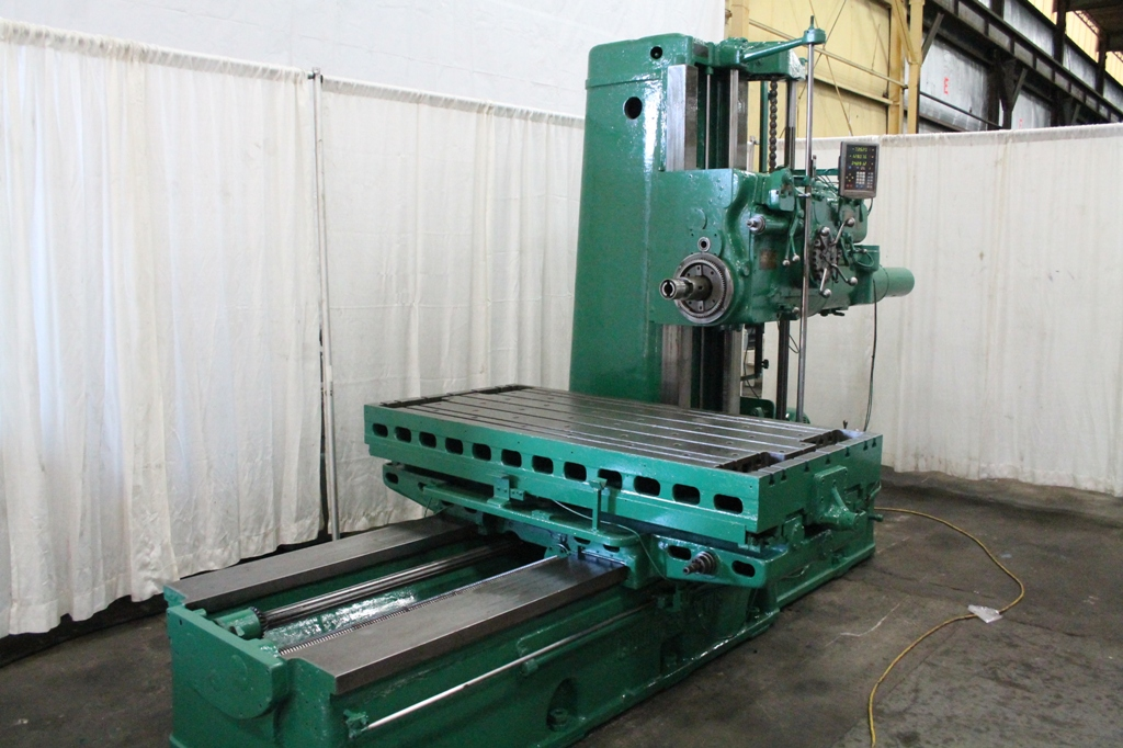 Giddings Amp Lewis 340 T Horizontal Boring Mill Stock 63900