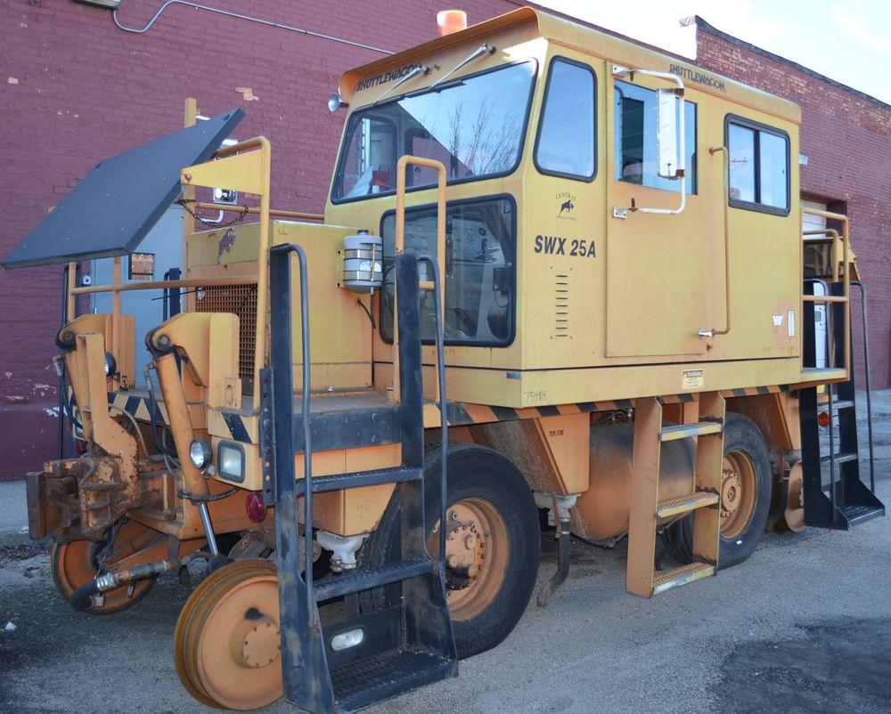 Shuttlewagon Model Swx25a Railcar Mover Stock 66283