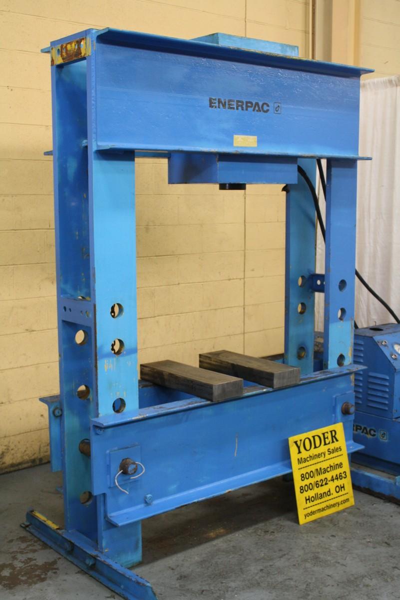 200 Ton Enerpac Model Rr200 H Frame Press Stock 66448