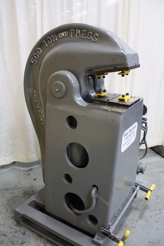 Ton esco cable swaging press stock