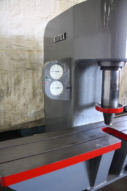 160 Ton Eitel Hydraulic Straightening Press Stock 66804