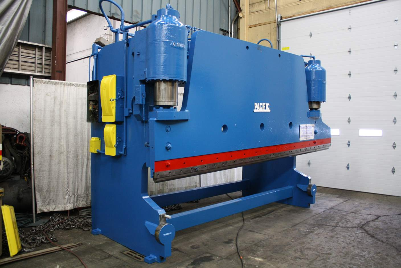 Used Press Brakes For Sale - 400 TON X 16 PACIFIC HYDRAULIC
