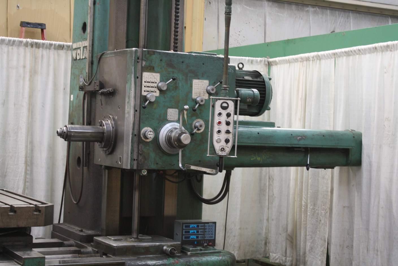 5 Quot Wotan Horizontal Model B130 Rotary Table Boring Mill