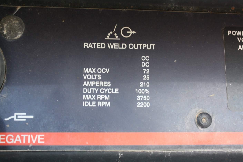 Hobart Model  8500 Portable Welder  U0026 Generator  Stock  67307