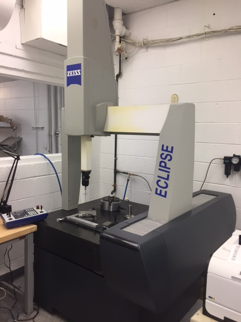 Zeiss Eclipse 2828 Dcc Coordinate Measuring Machine Stock