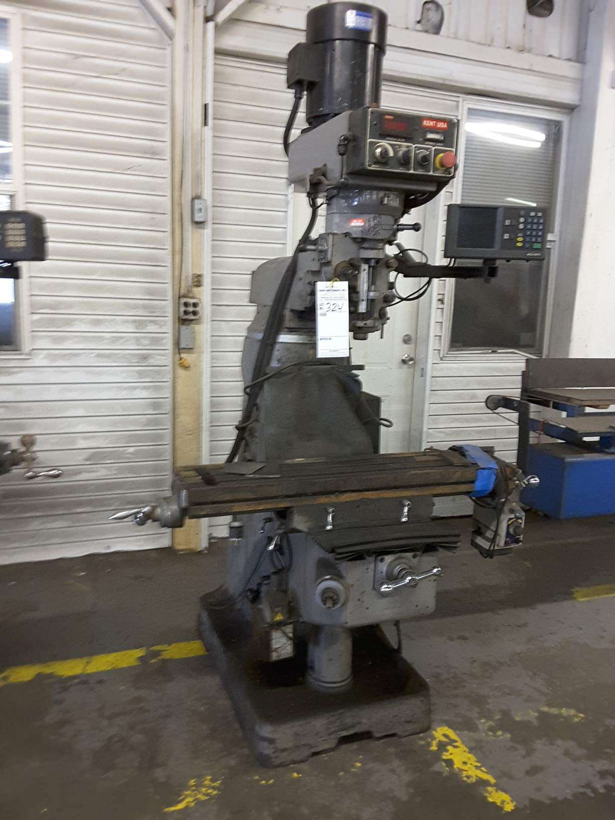 kent milling machine for sale
