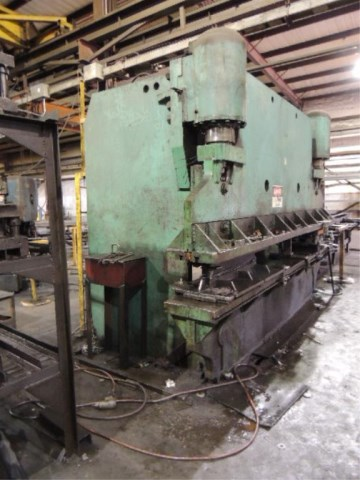 How Often Should You Change Your Brakes >> 300 TON X 14' PACIFIC MODEL K300-14 HYDRAULIC FLANGED BED