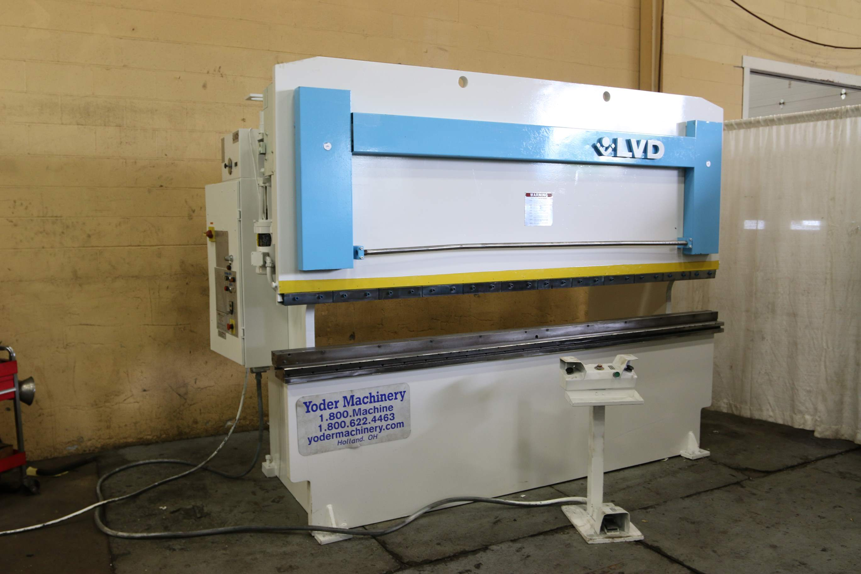 Used Press Brakes For Sale - 150 TON X 10 LVD HYDRAULIC