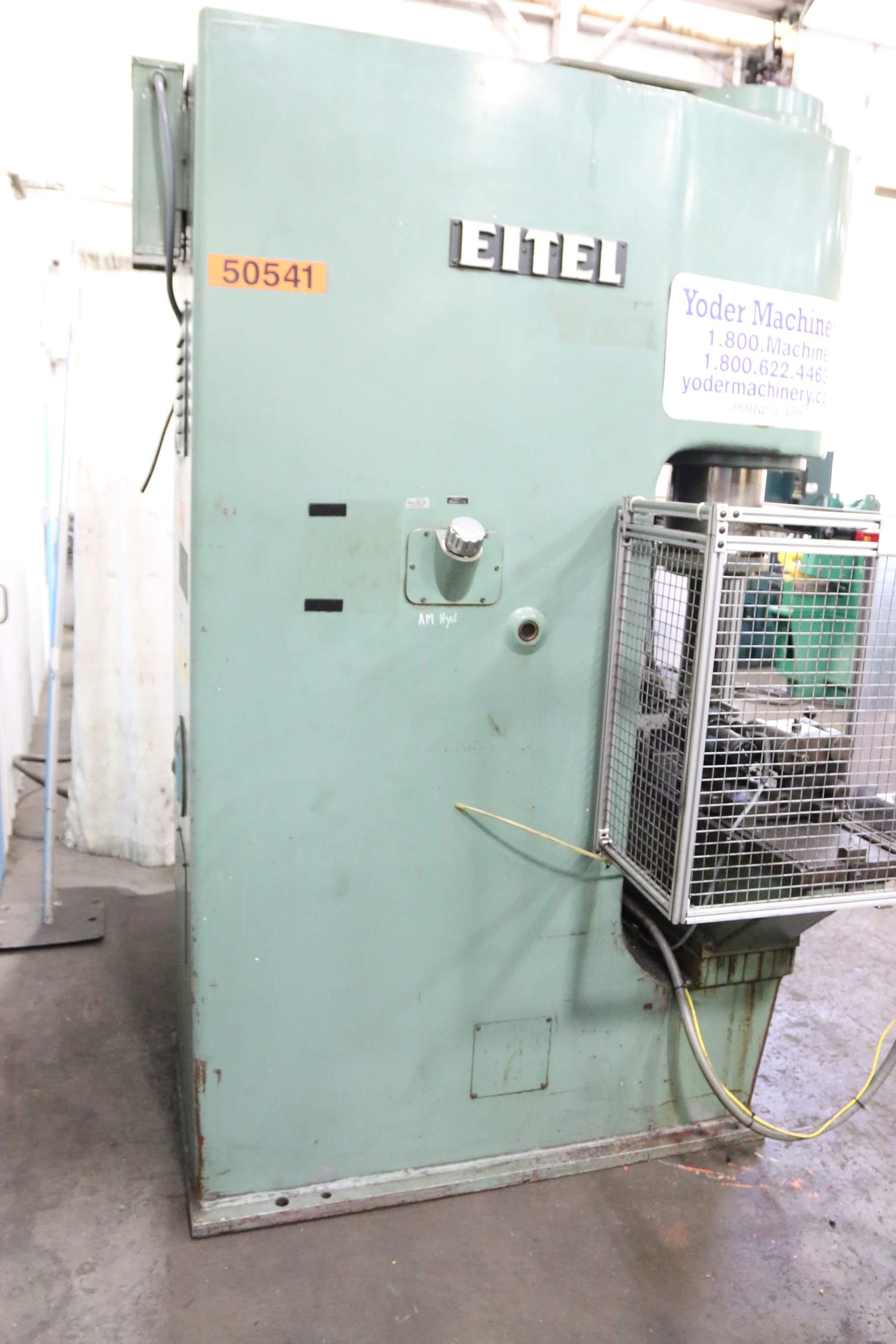 100 Ton Eitel C Frame Straightening Press Stock 68023