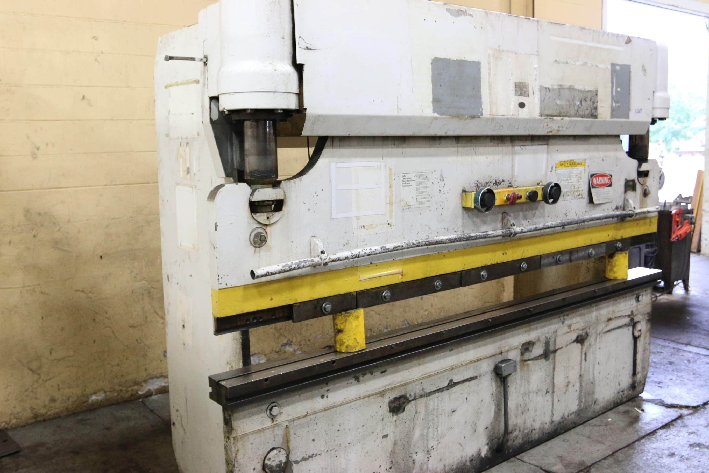 How Often Should You Change Your Brakes >> 75 TON X 10' PACIFIC HYDRAULIC PRESS BRAKE: STOCK #68381