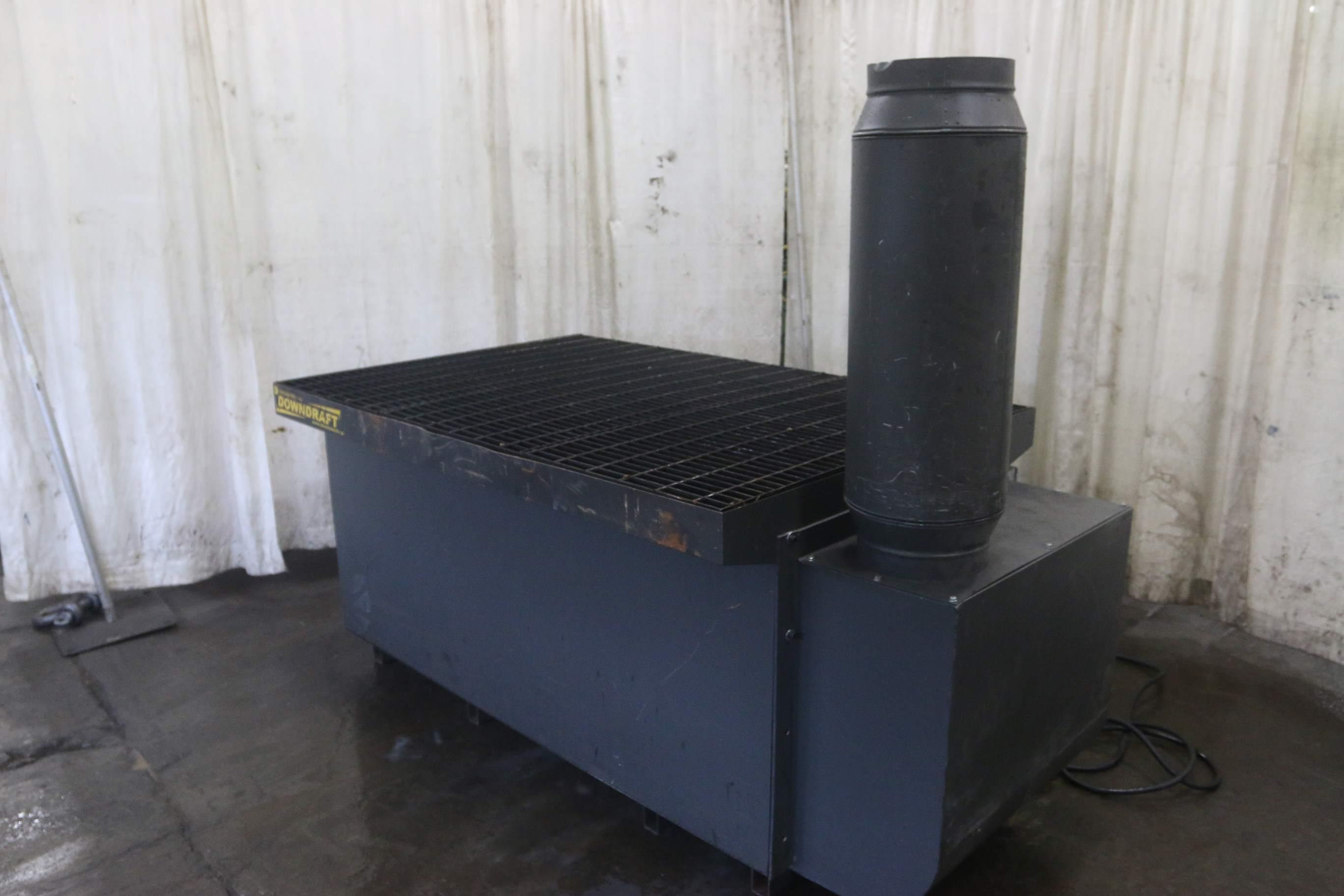 4 X 6 Downdraft Welding Table Stock 69748
