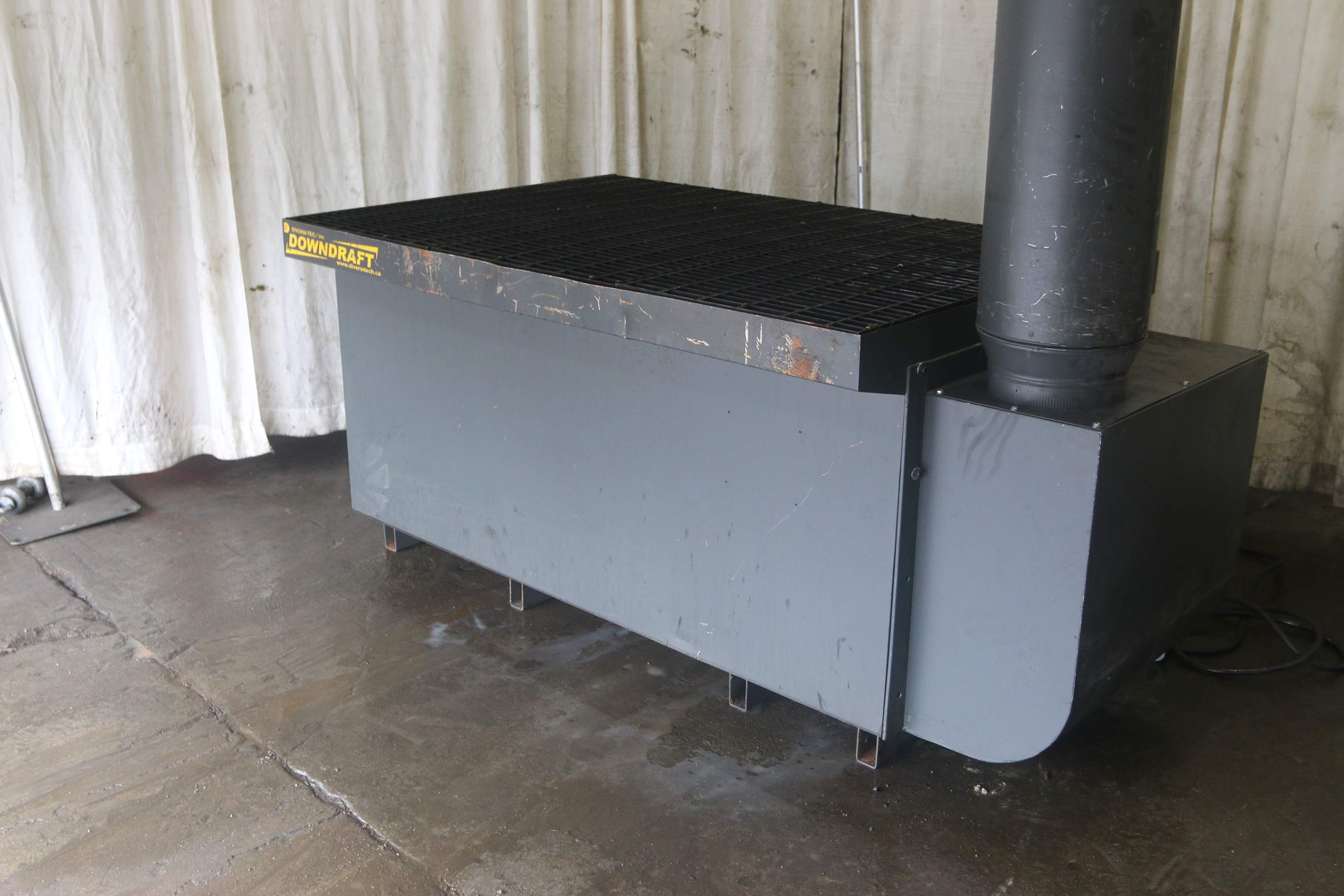 4 X 6 Downdraft Welding Table Stock 69748