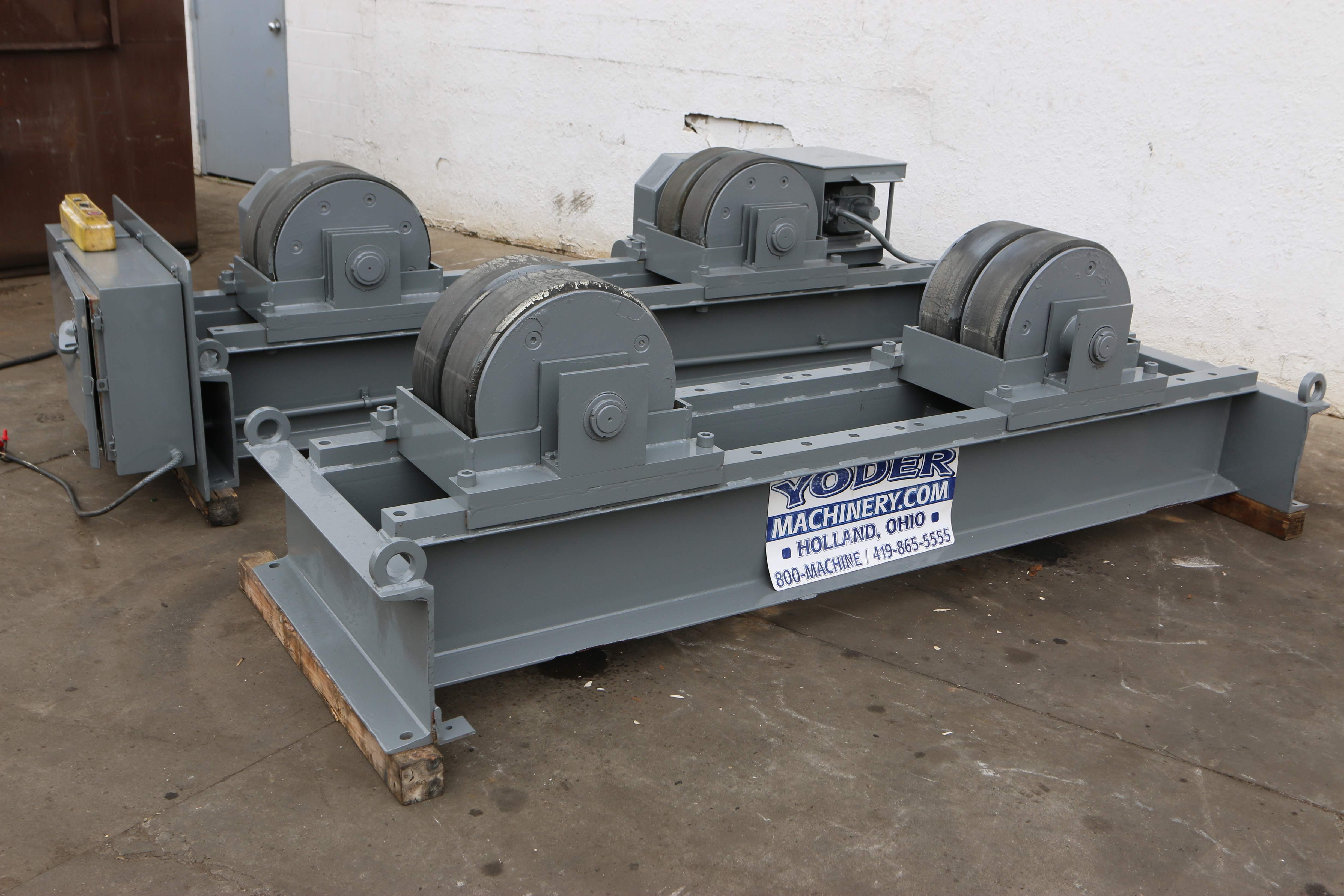60 Ton Aronson Rubber Tire Tank Turning Roll Stock 70050