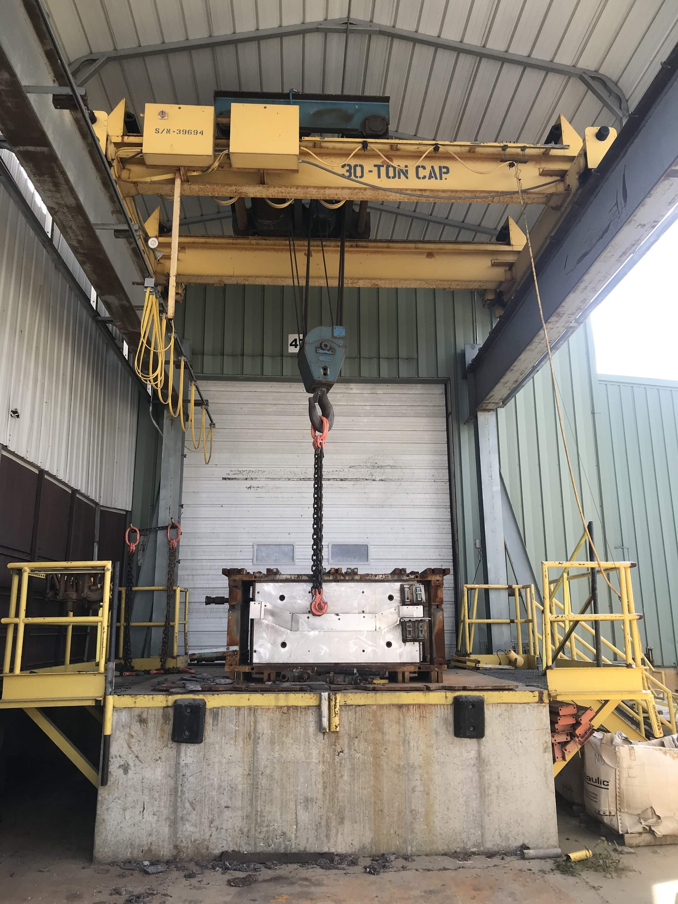 30 Ton X 15 Overhead Bridge Crane Stock 71207