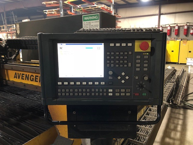 8 X 35 Esab Avenger Cnc Plasma Cutting System Stock 71351