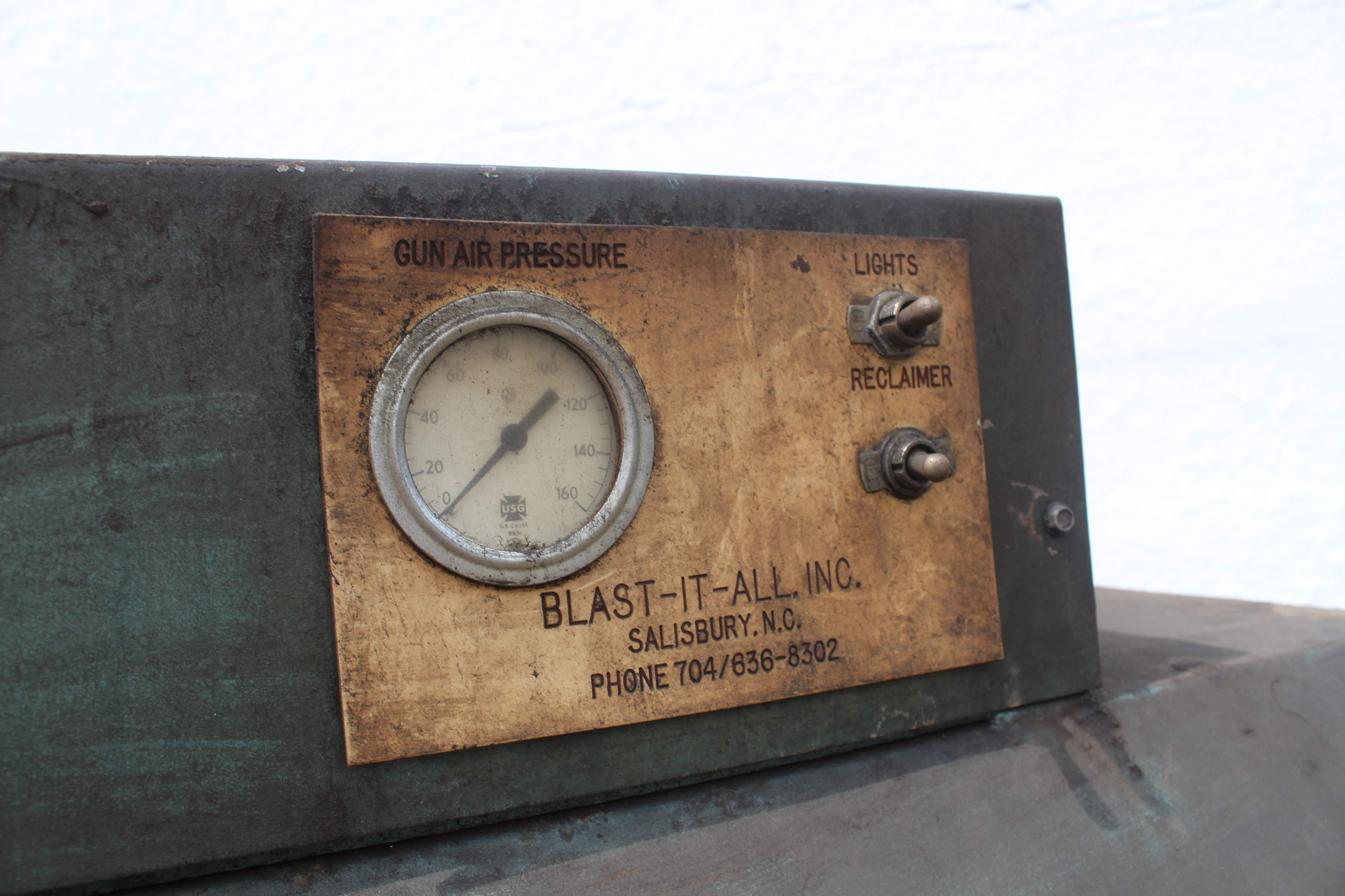 Blast It All Model 4837 Abrasive Blasting Cabinet Stock